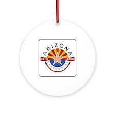 Arizona Centennial 1912-2012 - USA Round Ornament