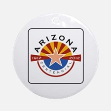 Arizona Centennial 1912-2012 - USA Round Ornament