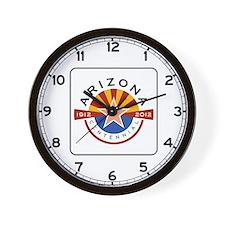 Arizona Centennial 1912-2012 - USA Wall Clock