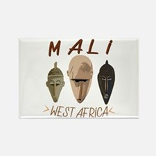 Mali West Africa Magnets