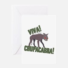 Viva Chupacabra! Greeting Cards