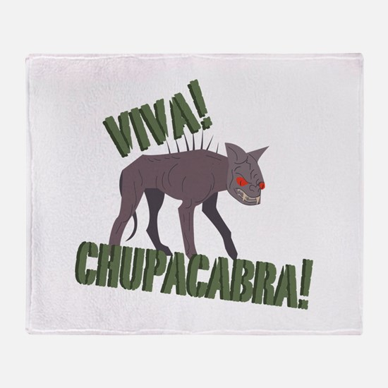 Viva Chupacabra! Throw Blanket