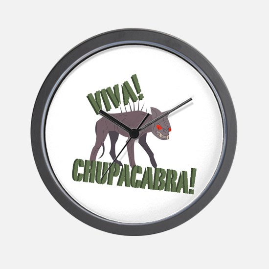 Viva Chupacabra! Wall Clock