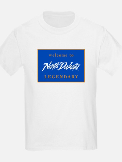 Welcome to North Dakota - USA T-Shirt