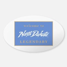 Welcome to North Dakota - USA Decal