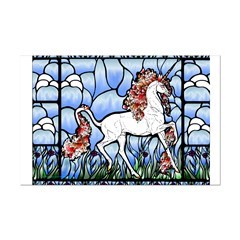 Stained Glass Unicorn Posters