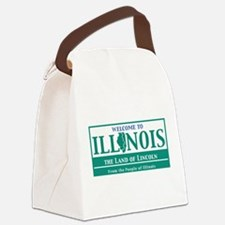 Welcome to Illinois - USA Canvas Lunch Bag
