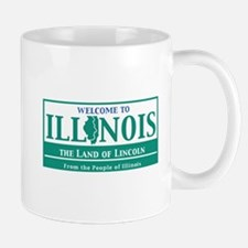 Welcome to Illinois - USA Mug