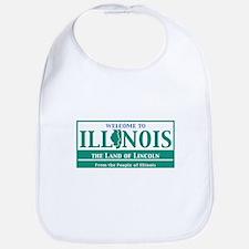 Welcome to Illinois - USA Bib