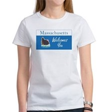 Welcome to Massachusetts - USA Tee
