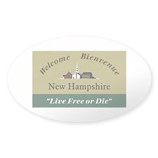 Welcome to New Hampshire - USA Decal