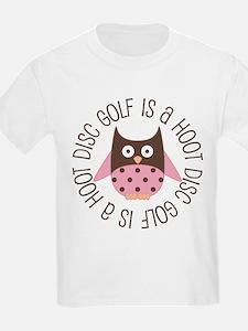 Disc Golf Is A hoot T-Shirt