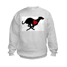 Greyhound Sweatshirt/Heart Hound