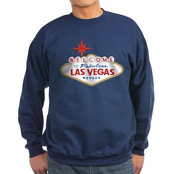 Welcome to Fabulous Las Vegas, N Sweatshirt (dark)