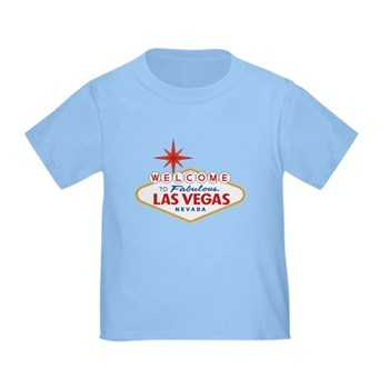 Welcome to Fabulous Las Vegas, NV Toddler T-Shirt