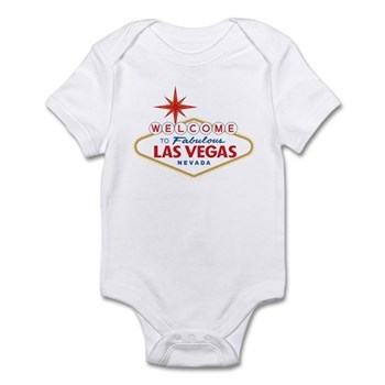 Welcome to Fabulous Las Vegas, NV Infant Bodysuit