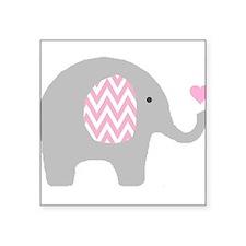 "Cute Baby Square Sticker 3"" x 3"""