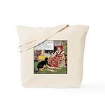 VINTAGE CAT ART Tote Bag