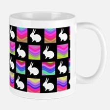 Retro Rabbit Mugs