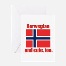 Cute Norwegian Greeting Card