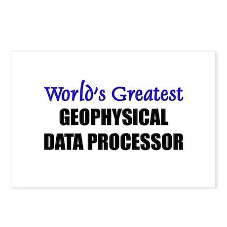 Worlds Greatest GEOPHYSICAL DATA PROCESSOR Postcar