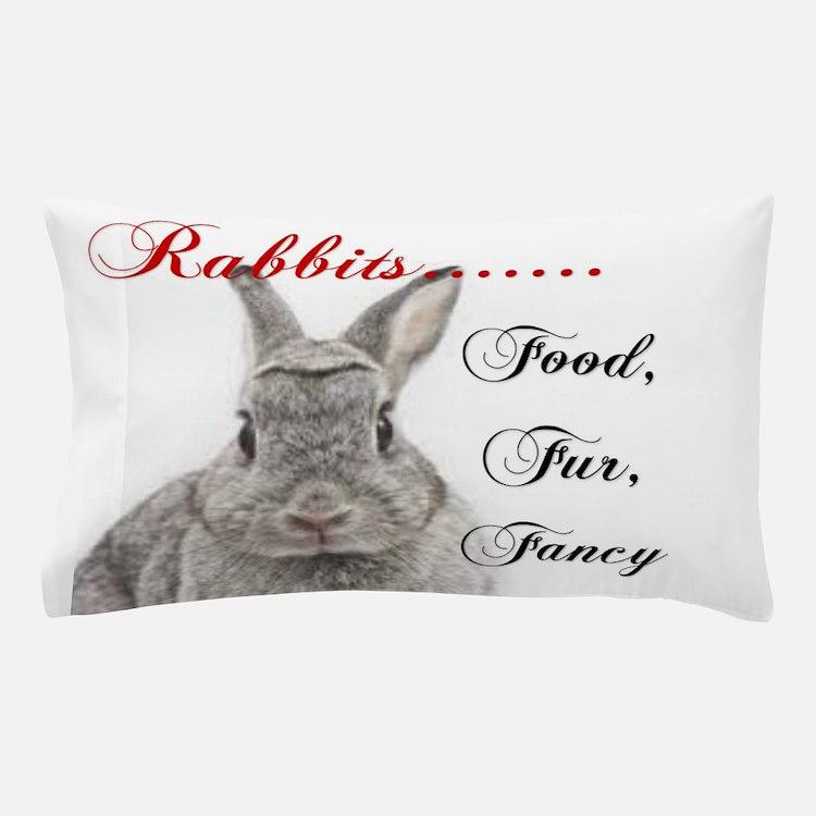 Food Fur Fancy Pillow Case