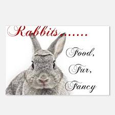 Food Fur Fancy Postcards (Package of 8)
