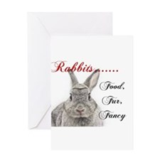 Food Fur Fancy Greeting Cards