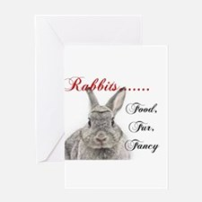 Food Fur Fancy Greeting Cards