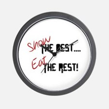 Show the Best! Wall Clock