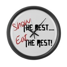 Show the Best! Large Wall Clock