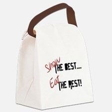 Show the Best! Canvas Lunch Bag