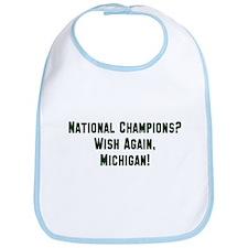 MSU Hates Michigan Bib
