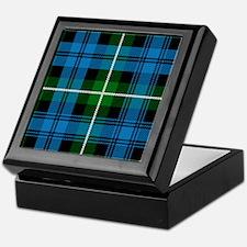 Lamont Scottish Tartan Keepsake Box