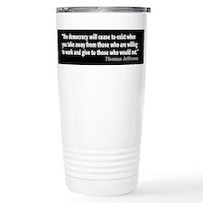 Cool Political Travel Mug