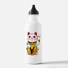 Yen Yuan Lucky Cat Man Water Bottle