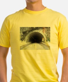 Dangerous Tunnel Ahead T-Shirt