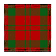Livingston Scottish Tartan Tile Coaster