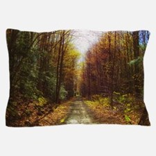 old rail road trail Pillow Case