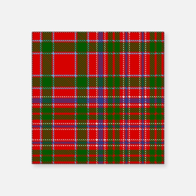 MacAlister Scottish Tartan Sticker