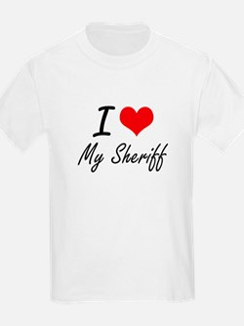 I Love My Sheriff T-Shirt