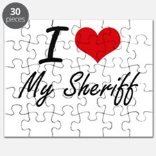 I Love My Sheriff Puzzle