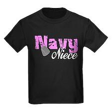 Navy Niece T