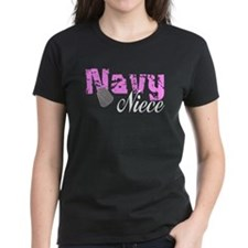 Navy Niece Tee