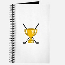 Golf Trophy Cup Journal
