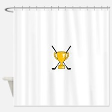 Golf Trophy Cup Shower Curtain