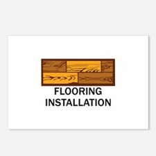 Flooring Installation Postcards (Package of 8)