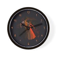 """""""Flamenco-1-"""" Wall Clock"""