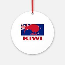 Kiwi Ornament (Round)