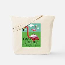 Pink Plastic Flamingo Tote Bag